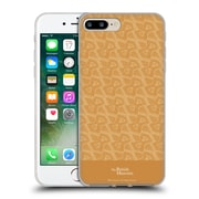 Official British Museum Decoration and Ceremony Slanted Pattern Soft Gel Case for Apple iPhone 7 Plus