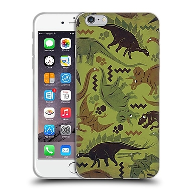 Official Chobopop Dinosaurs Camouflage Soft Gel Case for Apple iPhone 6 Plus / 6s Plus
