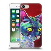 Official DAWGART CATS Devon Rex Soft Gel Case for Apple iPhone 7