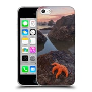 Official DARREN WHITE BEACHES AND OCEANS Battle Rock Sunrise Soft Gel Case for Apple iPhone 5c