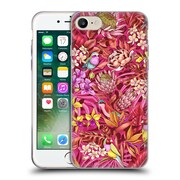 Official Celandine Tropical Pattern Stand Out Red Soft Gel Case for Apple iPhone 7