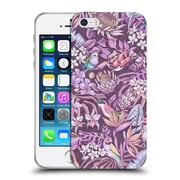 Official Celandine Tropical Pattern Stand Out Pastel Soft Gel Case for Apple iPhone 5 / 5s / SE