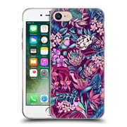 Official Celandine Tropical Pattern Stand Out Ultraviolet Soft Gel Case for Apple iPhone 7