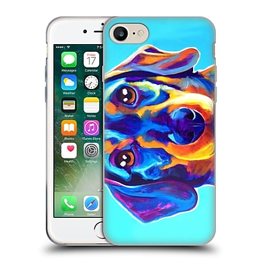 Official Dawgart Dogs Dachsund Oscar Soft Gel Case for Apple iPhone 7