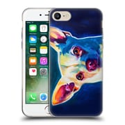 Official Dawgart Dogs Chihuahua Coco Soft Gel Case for Apple iPhone 7