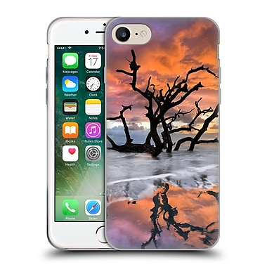 Official Celebrate Life Gallery Beaches Wildfire Soft Gel Case for Apple iPhone 7