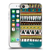 Official British Museum Ancient Egypt Teal Egyptian Pattern Soft Gel Case for Apple iPhone 7