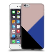 Official Caitlin Workman Modern Getting Blocky Blue Soft Gel Case for Apple iPhone 6 Plus / 6s Plus