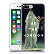 Official BRING ME THE HORIZON Key Art Cloaked White Soft Gel Case for Apple iPhone 7 Plus