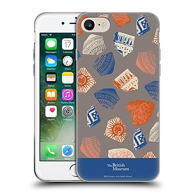 Official British Museum Community and Nurture Fragments Soft Gel Case for Apple iPhone 7