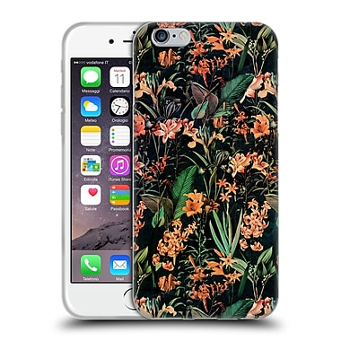 Official Burcu Korkmazyurek Floral 2 Exotic Garden Soft Gel Case for Apple iPhone 6 / 6s