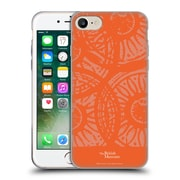 Official British Museum Community and Nurture Orange Stamps Soft Gel Case for Apple iPhone 7