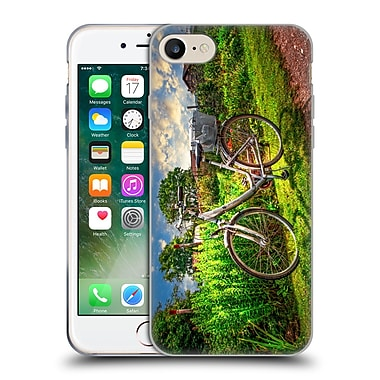 Official Celebrate Life Gallery Bicycle Garfen Soft Gel Case for Apple iPhone 7