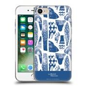 Official British Museum Community and Nurture Blue Vases Soft Gel Case for Apple iPhone 7
