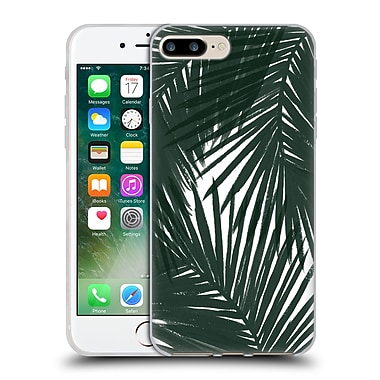 Official Caitlin Workman Organic Palms Green Soft Gel Case for Apple iPhone 7 Plus