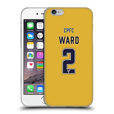 Official Crystal Palace FC 2016/17 Players Away Kit Joel Ward Soft Gel Case for Apple iPhone 6 / 6s