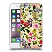Official Burcu Korkmazyurek Floral Summer Botanical X Soft Gel Case for Apple iPhone 6 / 6s