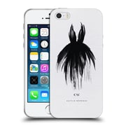Official Caitlin Workman Black and White LBD Soft Gel Case for Apple iPhone 5 / 5s / SE