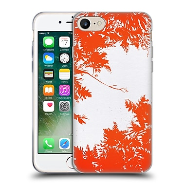 Official Caitlin Workman Organic Spring Night's Sky Red Soft Gel Case for Apple iPhone 7