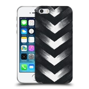 Official Caitlin Workman Modern Charcoal Point Soft Gel Case for Apple iPhone 5 / 5s / SE