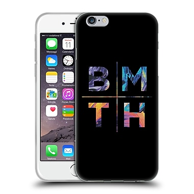 Official BRING ME THE HORIZON Key Art Stacked Letters Soft Gel Case for Apple iPhone 6 / 6s