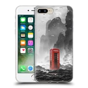 Official Daniel Conway Surreal Scenery Phonebooth Soft Gel Case for Apple iPhone 7 Plus