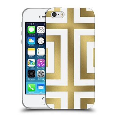 Official Caitlin Workman Modern Spring Gold 01 Soft Gel Case for Apple iPhone 5 / 5s / SE