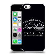 Official BRING ME THE HORIZON Key Art The World is a Funeral Soft Gel Case for Apple iPhone 5c