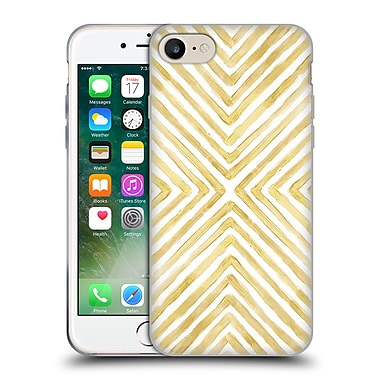 Official Caitlin Workman Patterns Gilded Bars Soft Gel Case for Apple iPhone 7