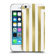 Official Caitlin Workman Modern Gold 02 Soft Gel Case for Apple iPhone 5 / 5s / SE