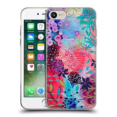 Official Carrie Schmitt Florals Spirit Garden Soft Gel Case for Apple iPhone 7