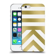 Official Caitlin Workman Modern Gold 03 Soft Gel Case for Apple iPhone 5 / 5s / SE
