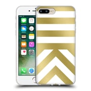 Official Caitlin Workman Modern Gold 03 Soft Gel Case for Apple iPhone 7 Plus