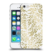 Official Caitlin Workman Organic Foliage Gold Soft Gel Case for Apple iPhone 5 / 5s / SE