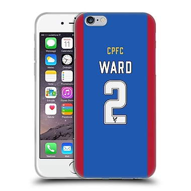 Official Crystal Palace FC 2016/17 Players Home Kit Joel Ward Soft Gel Case for Apple iPhone 6 / 6s