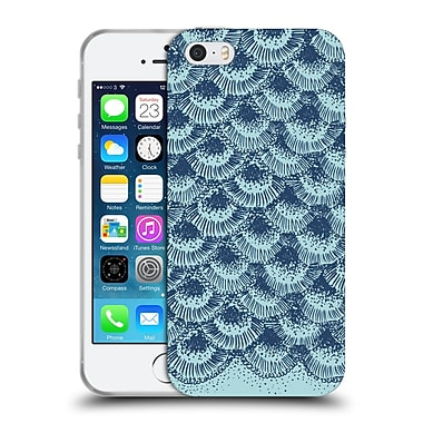 Official Caitlin Workman Modern Organic Burst Sea Soft Gel Case for Apple iPhone 5 / 5s / SE