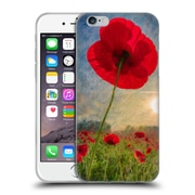 Official Celebrate Life Gallery Florals Poppy Soft Gel Case for Apple iPhone 6 / 6s