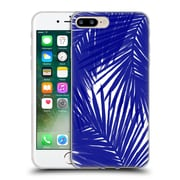 Official Caitlin Workman Organic Palms Royal Soft Gel Case for Apple iPhone 7 Plus