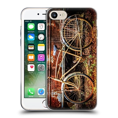 Official Celebrate Life Gallery Bicycle Rusty Ride Soft Gel Case for Apple iPhone 7