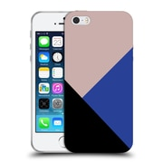 Official Caitlin Workman Modern Getting Blocky Blue Soft Gel Case for Apple iPhone 5 / 5s / SE