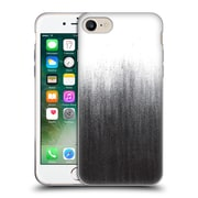 Official Caitlin Workman Patterns Charcoal Ombre Soft Gel Case for Apple iPhone 7