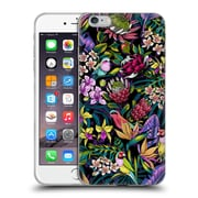 Official Celandine Tropical Pattern Stand Out Dark Soft Gel Case for Apple iPhone 6 Plus / 6s Plus
