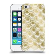 Official Caitlin Workman Modern Organic Burst Gold Soft Gel Case for Apple iPhone 5 / 5s / SE