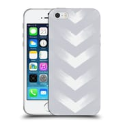 Official Caitlin Workman Modern Grey Point Soft Gel Case for Apple iPhone 5 / 5s / SE