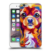 Official Dawgart Dogs King Charles Spaniel Soft Gel Case for Apple iPhone 6 / 6s