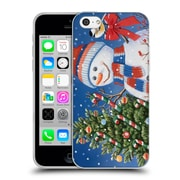 Official Christmas Mix Snowman William Vanderdasson Decorating Tree Soft Gel Case for Apple iPhone 5c