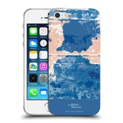 Official British Museum Decoration and Ceremony Blue Blotch Soft Gel Case for Apple iPhone 5 / 5s / SE