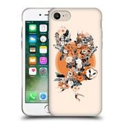 Official Burcu Korkmazyurek Animals Owl Soft Gel Case for Apple iPhone 7