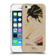 Official British Museum Images and Objects Geisha Soft Gel Case for Apple iPhone 5 / 5s / SE