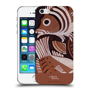 Official British Museum Images and Objects Greek Vase Fish Soft Gel Case for Apple iPhone 5 / 5s / SE